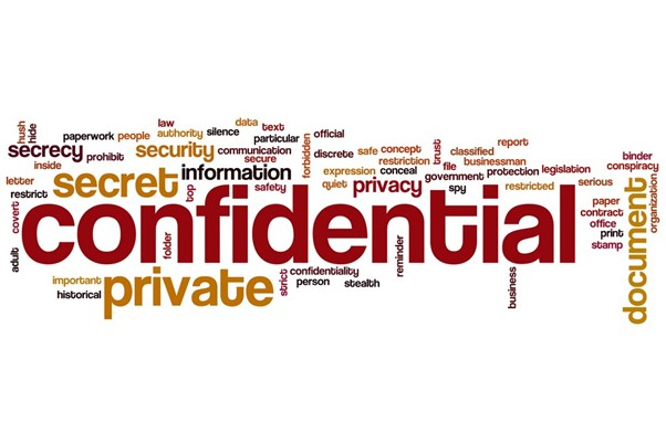 Back office services ensure Confidentiality