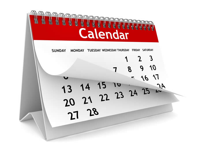 pre-trail calendaring