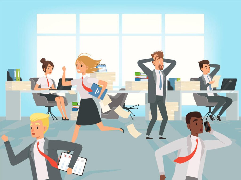 Reducing work pressure and improve efficiency